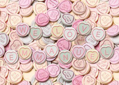 Valentines – Personalised artwork, retouching